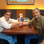 Paul and Shawn at the MSP Summit.