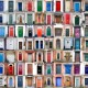 One hundred colourful wooden doors of Worcestershire and Shropshire