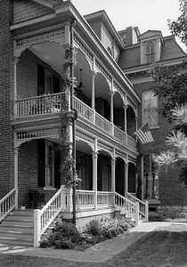 Morris-Butler house porch
