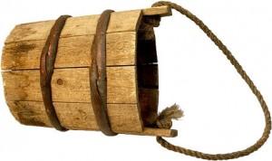 wood-pail